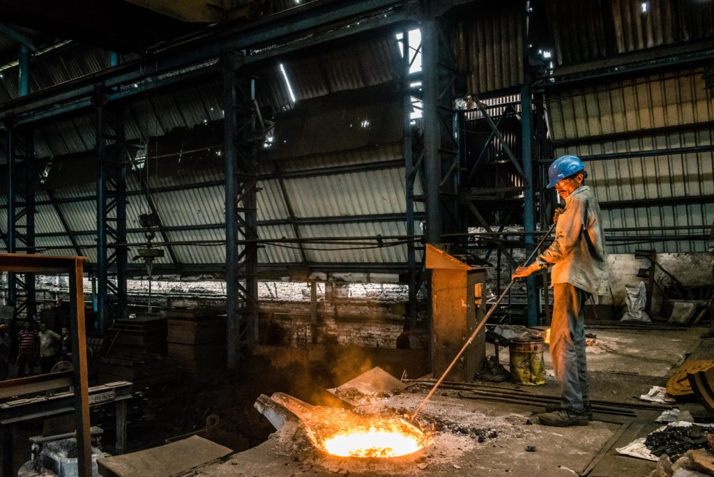 Cast Iron Foundry, Cast Iron Manufacturing in India - Govind Steel