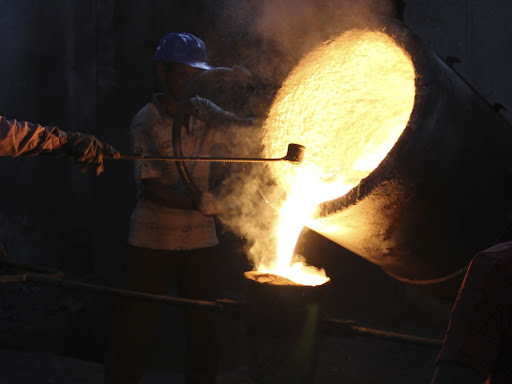 cast iron manufacturing at Govind Steel